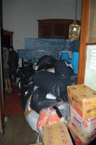 kondisi penyaluran barang bantuan