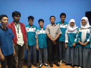 foto bersama usai Workshop Blog Untuk SMK