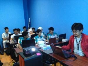 suasana Workshop Blog Untuk SMK