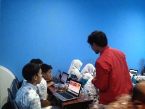 mentor Workshop Blog Untuk SMK