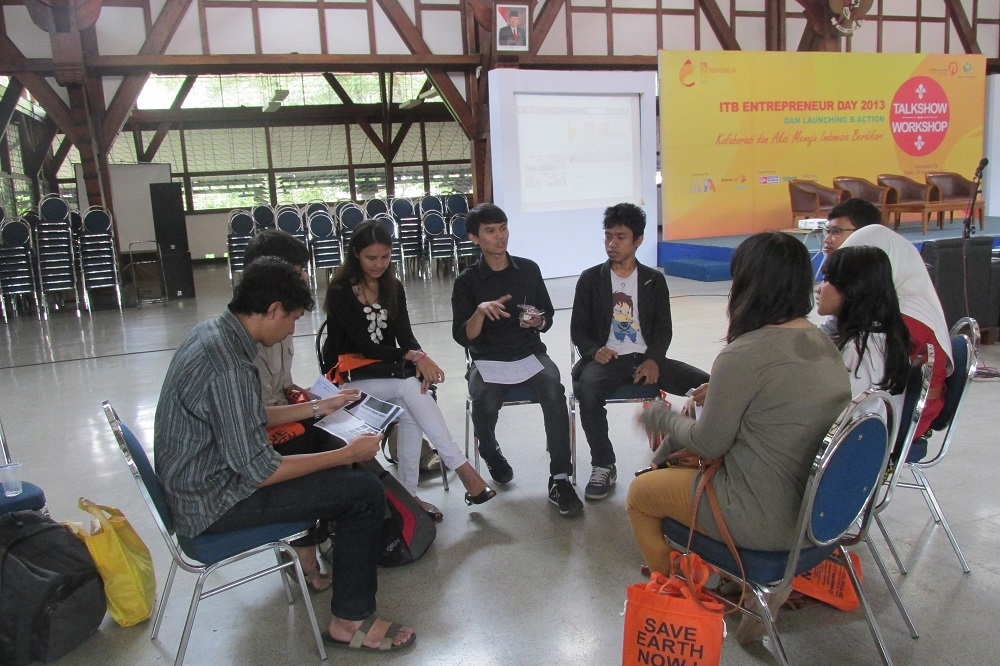 Workshop  ITB ENTERPRENEUR DAY