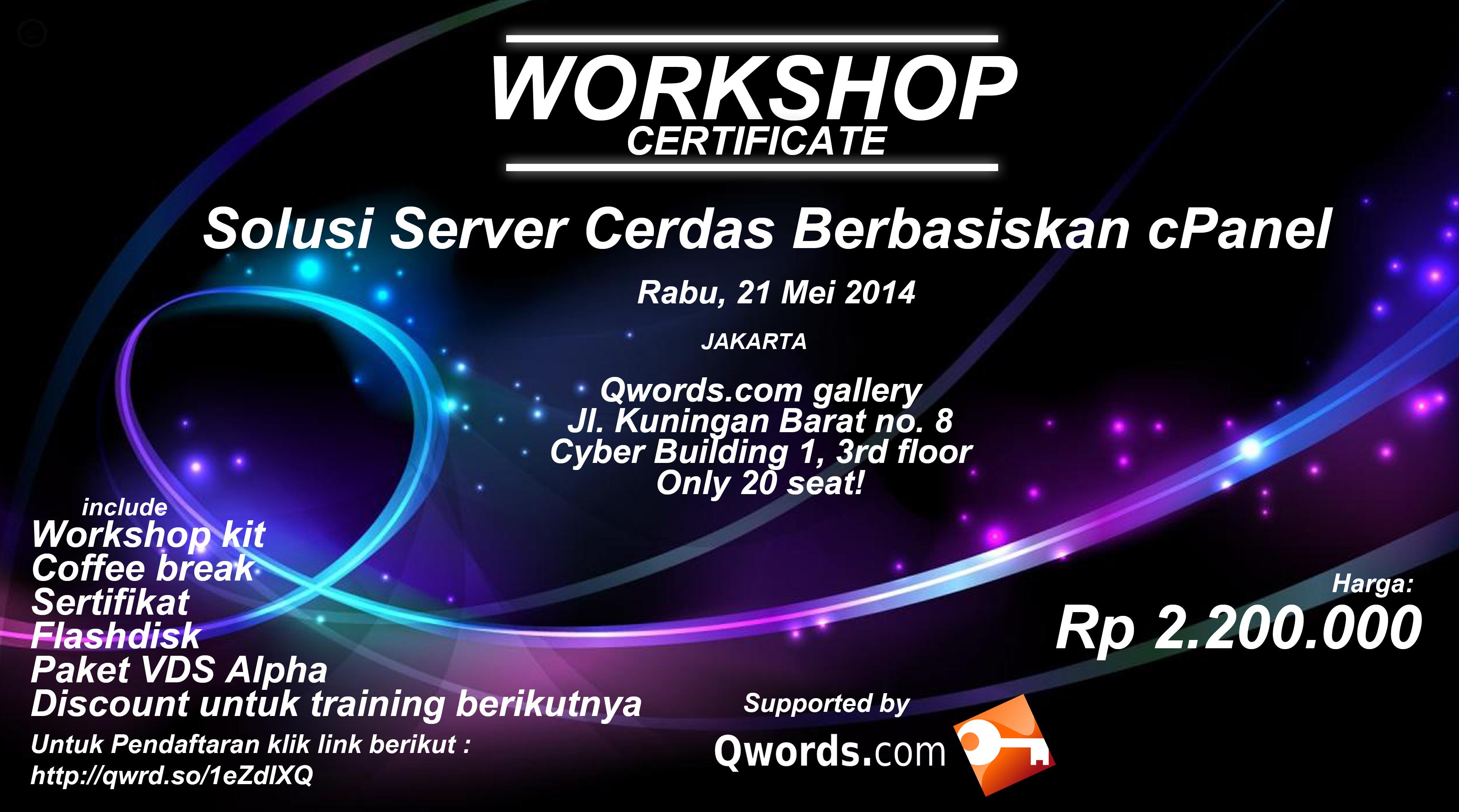 server indonesia Workshop