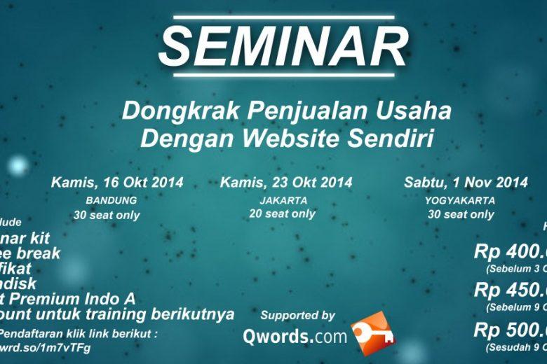 Seminar Bisnis Online 2014