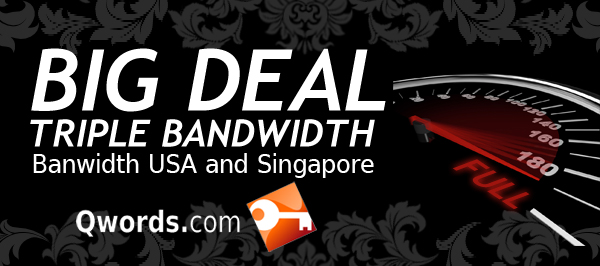 Bandwith USA dan Singapore