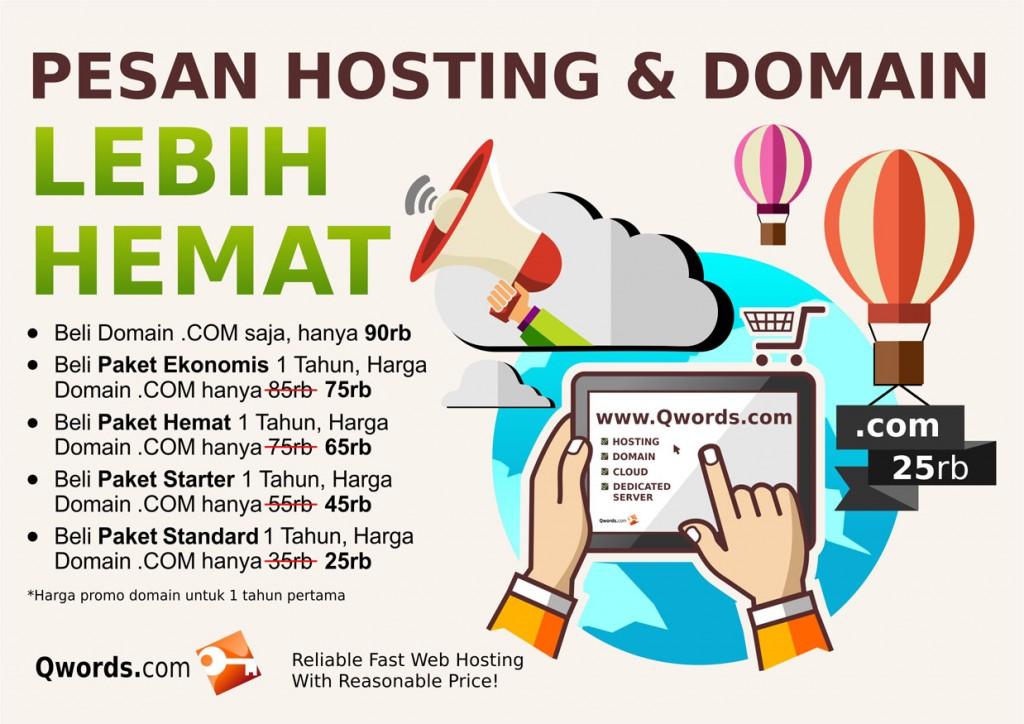 pesan hosting dan domain lebih hemat