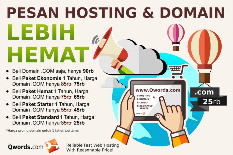 pesan hosting dan domain hemat
