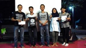 peraih hadiah dalam Blogger Camp 2015