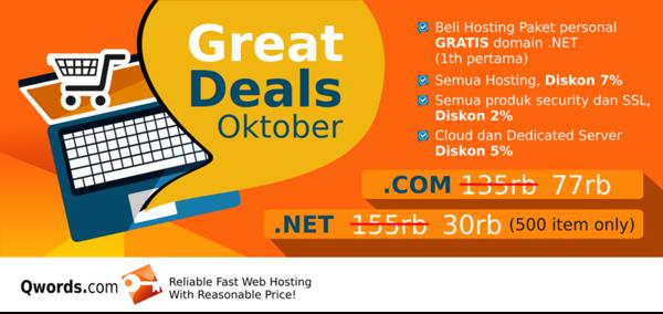 Great Deals Oktober 2015