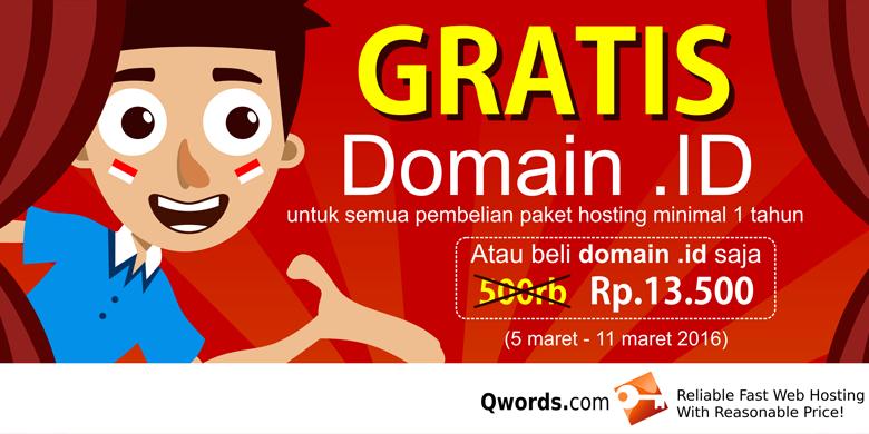 gratis domain id