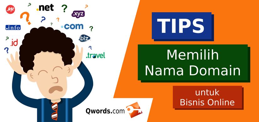 tips domain pilih