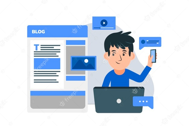 ngeblog via hp