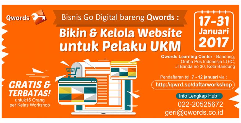 bisnis dan kelola website pelaku UKM