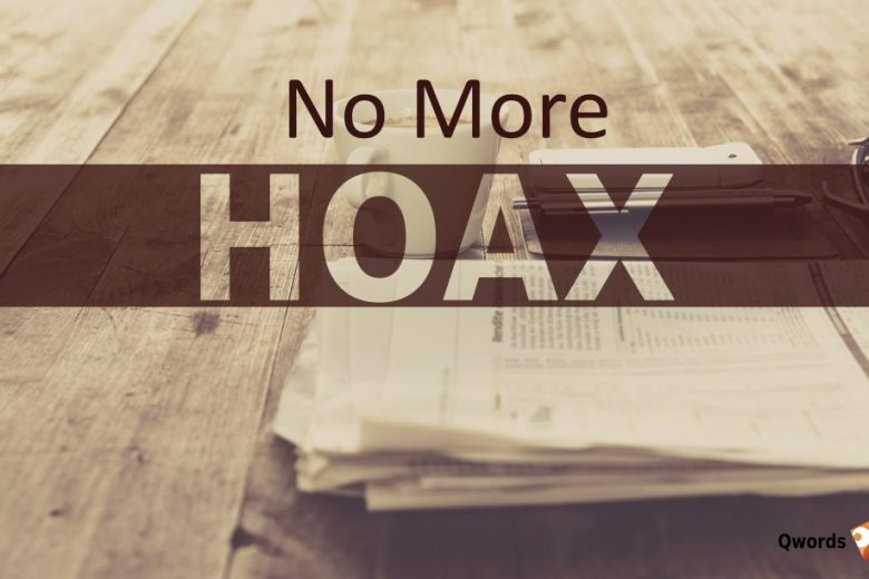 no more hoaxs