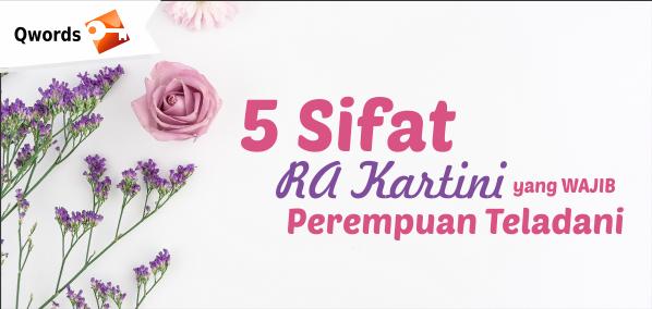 5 sifat RA Kartini