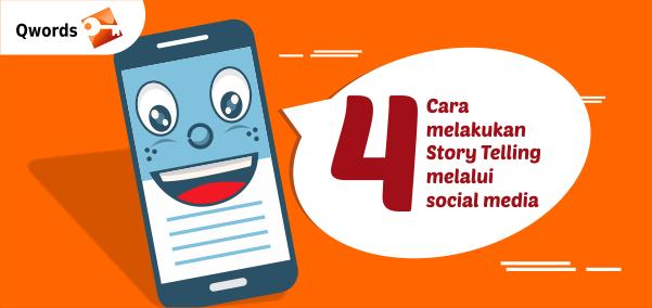 4 cara story telling