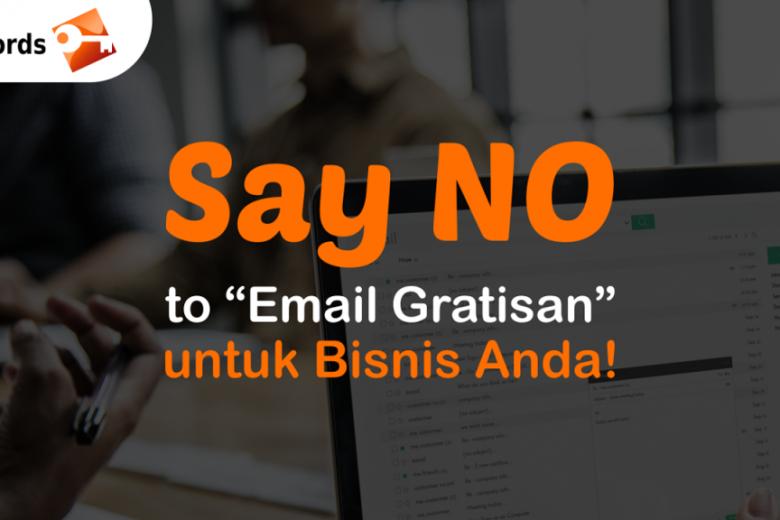 Bahaya email gratisan