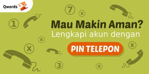 pin telepon