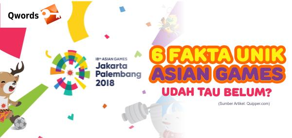 Fakta Unik Asian Games