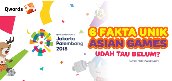 fakta unik asian games