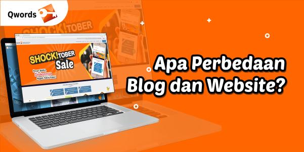 7 Perbedaan Blog dan Website