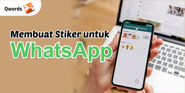 Mmebuat Stiker untuk WhatsApp