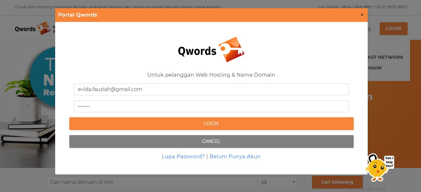 Login Portal Qwords
