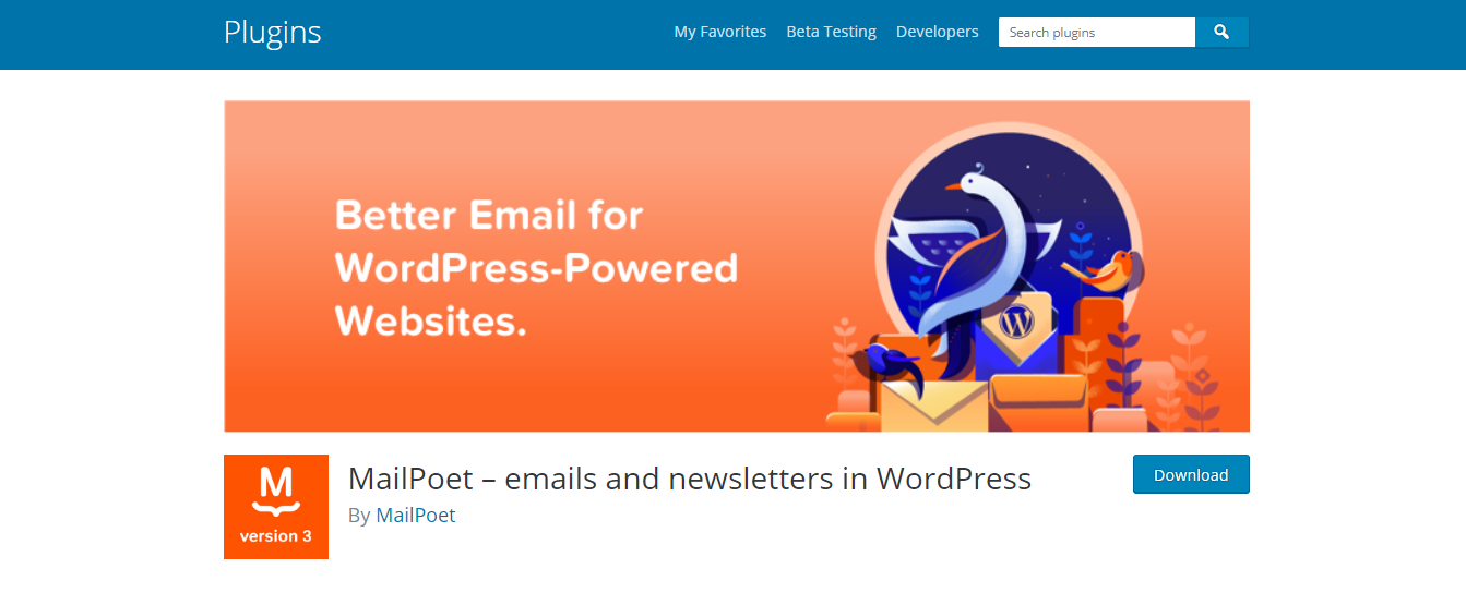 MailPoet – Email & Newsletter