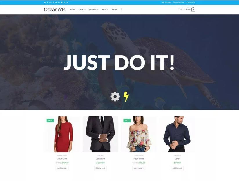 OceanWP Template