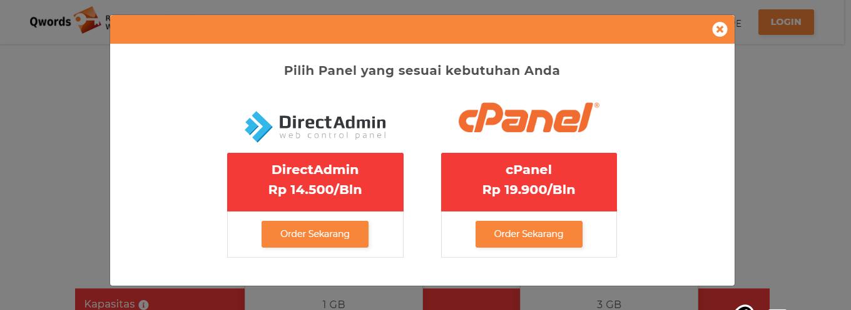 Perbandingan Harga DirectAdmin dan cPanel