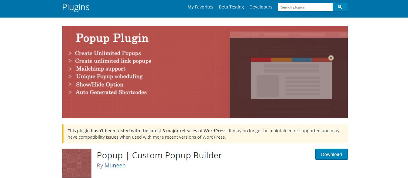 Popup - Custom Popup Builder