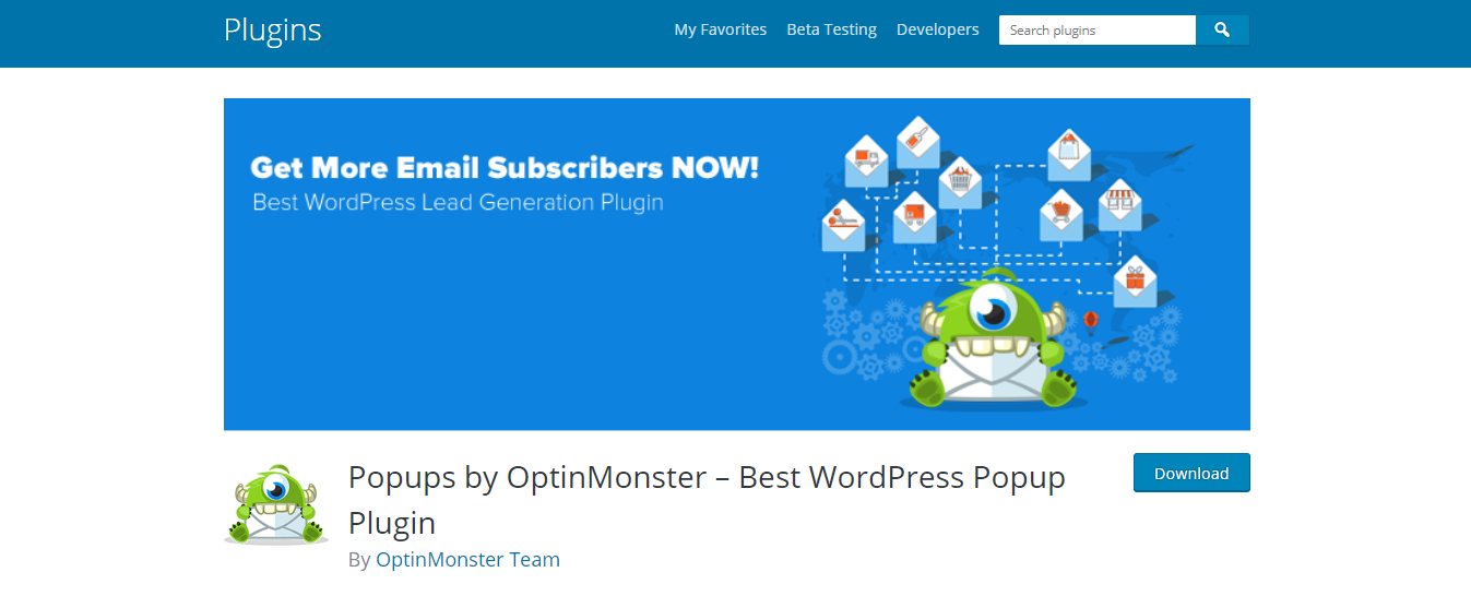 Popups by OptinMonster