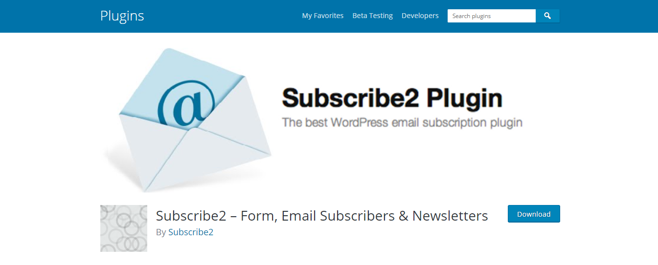 Subscribe 2 – Form, Email Subscriber & Newsletter