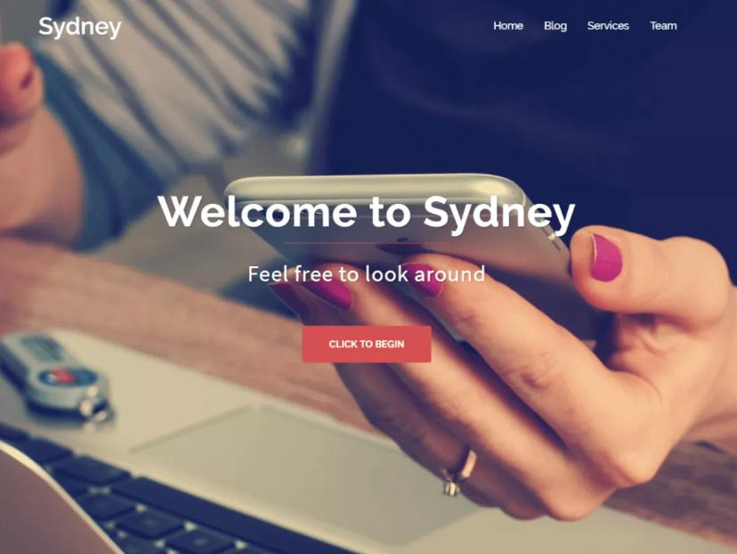 Sydney Template