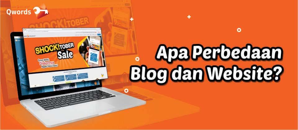 blog beda blog dan website