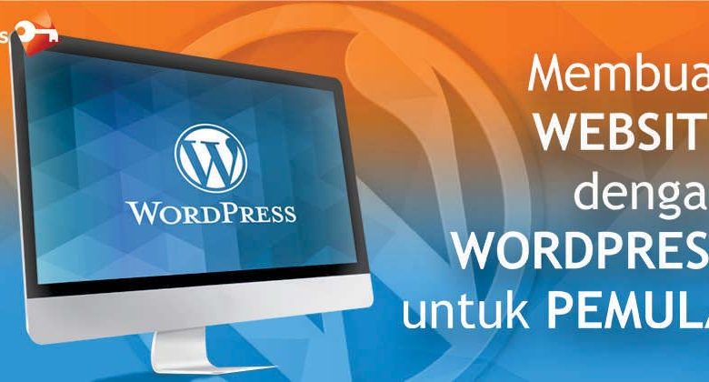 blog membuat website dng wordpress