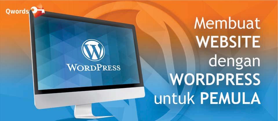 blog membuat website dng wordpress