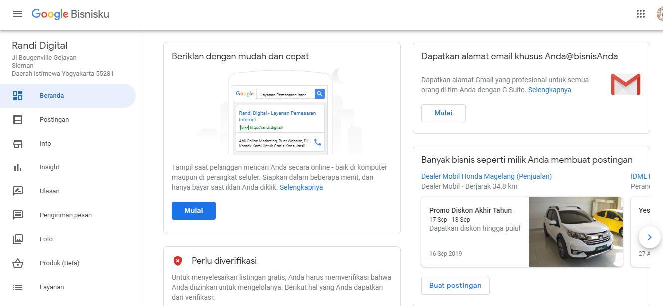 Panduan Lengkap Google Bisnisku Untuk Pemula Qwords