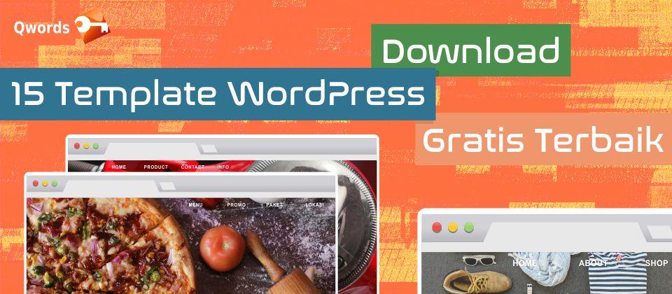 Download 15 Template Wordpress Gratis Terbaik