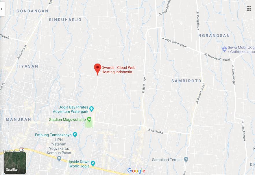 Map Google Bisnisku