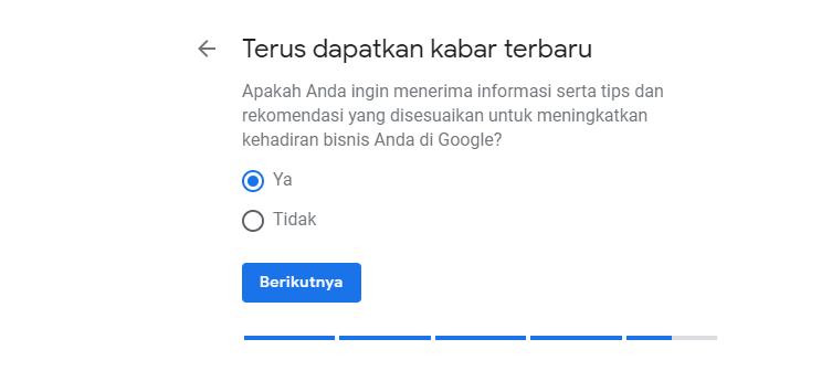 Mendapatkan Pemberitahuan Google