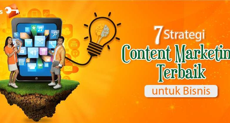 7 Strategi Content Marketing Terbaik