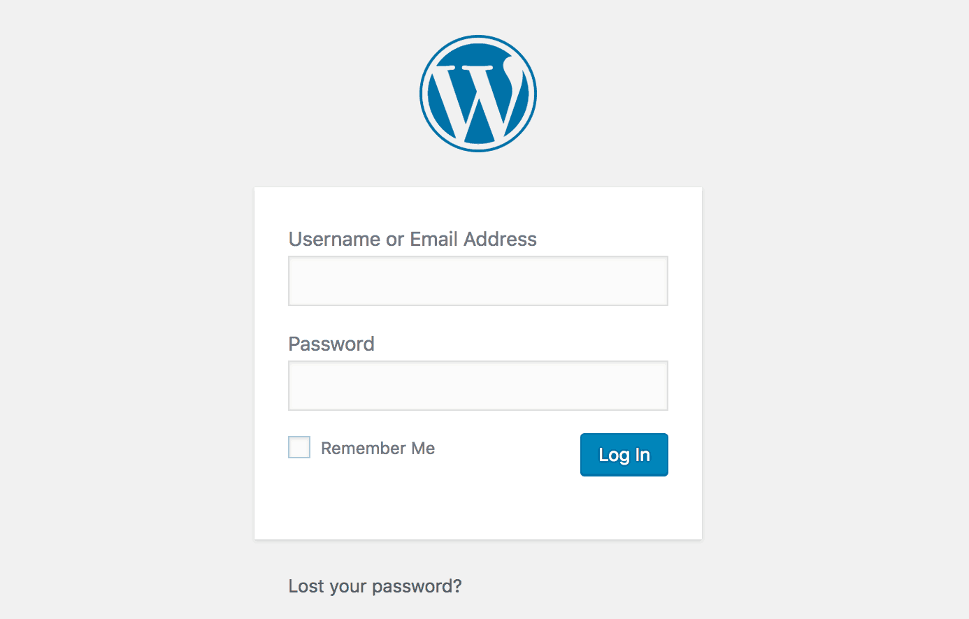 Cara Login WordPress
