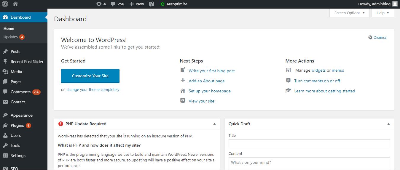 Cara Tercepat Login WordPress Dengan Mudah - Qwords