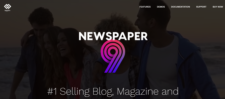 Newspapper theme