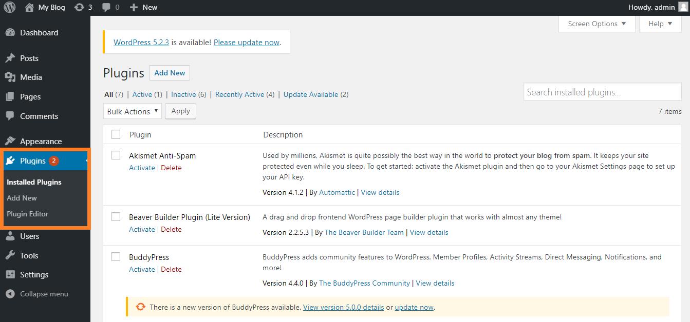 Plugin Pada WordPress