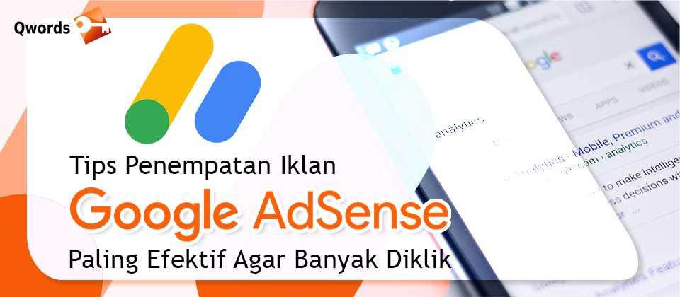 Tips Penempatan Iklan Google Adsense Paling Efektif Agar Banyak Diklik