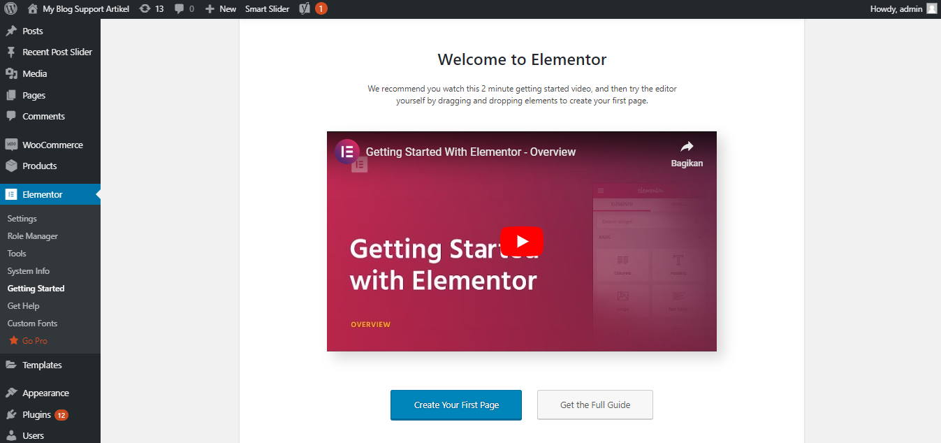 Welcome to Elementor