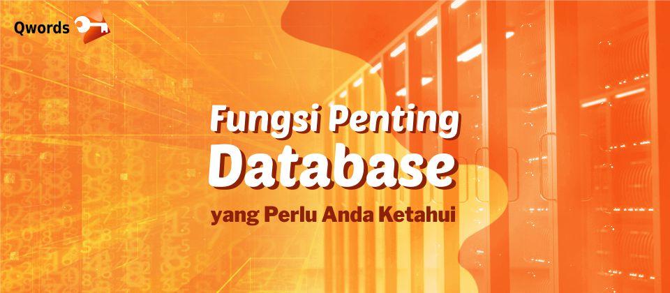 Fungsi Database