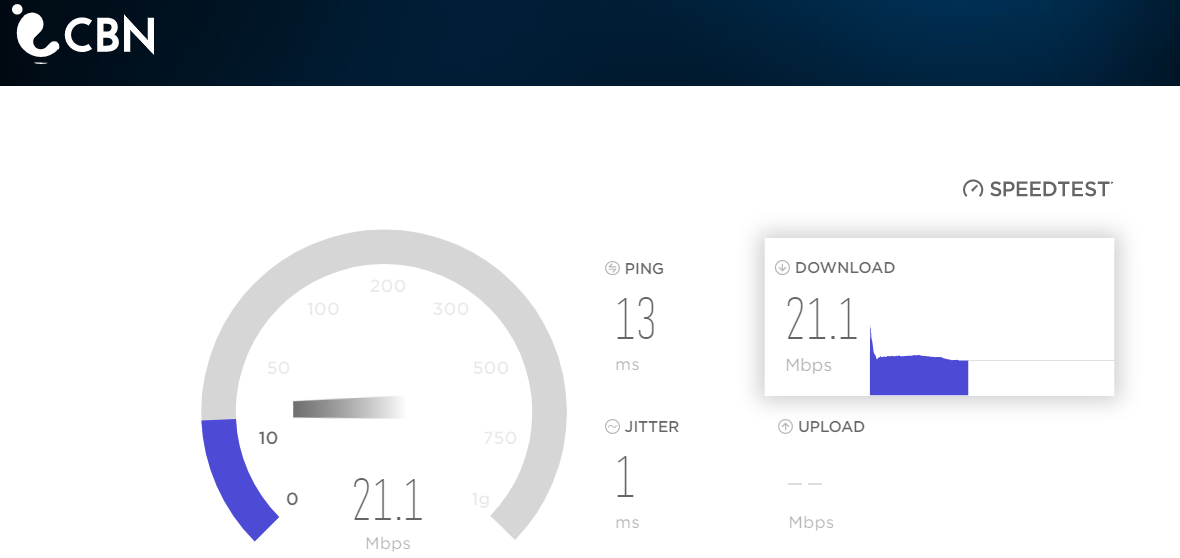 CBN Speed Test