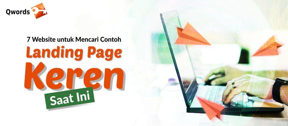 Contoh Landing Page Keren